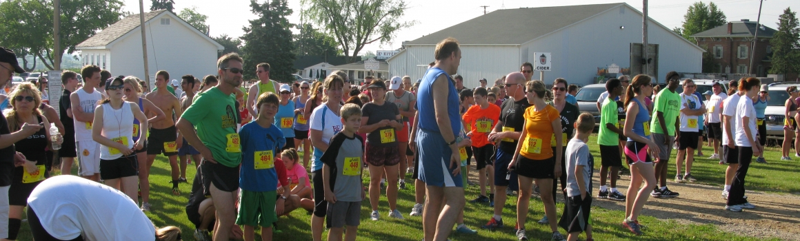 Grandma Kay's Orchard 5K Run / Walk  – Saturday, July 6, 2013