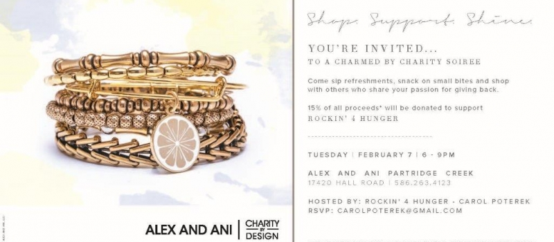 Alex and Ani Charity Event