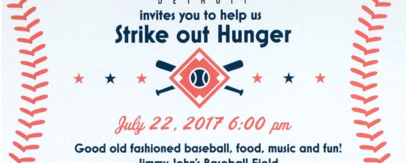 2017 Strike Out Hunger